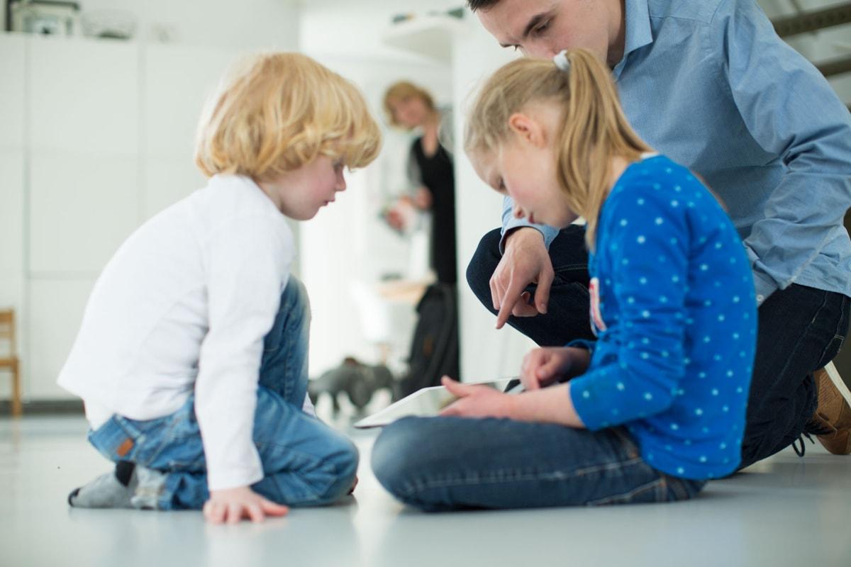 Gebruikerstest met ipad en kinderen