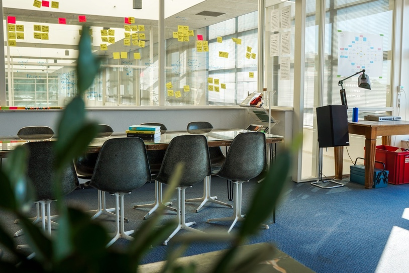 Foto van het kantoor van Op Scherp