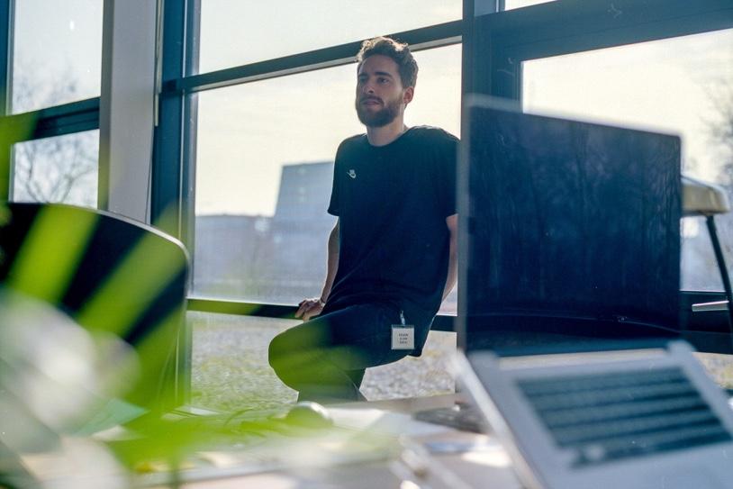 Ryco van Op Scherp op kantoor