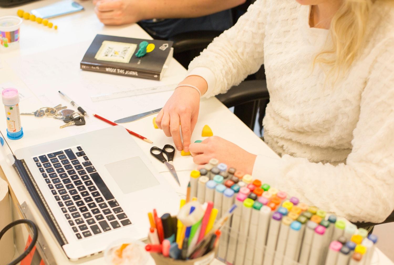 Workshop design thinking bij Online Media Koffer